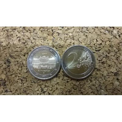 "Монета 2 евро 2019 год. Германия ""Бундесрат""."