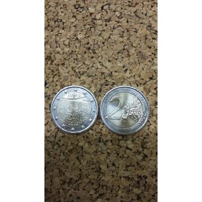Монета 2 евро 2019 год. Ирландия. 100 лет со дня первого заседания Дойл Эрен.