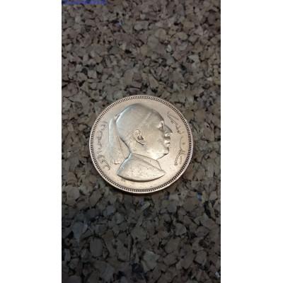 Монета 5 миллим 1952 год. Ливия.