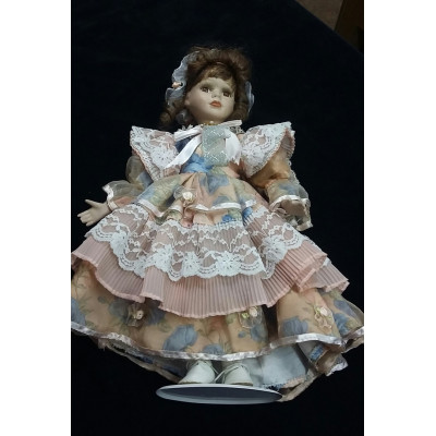 Кукла ГДР. Фарфор.