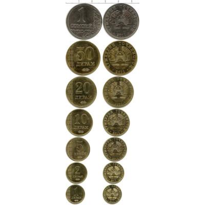 Монеты Таджикистана. Набор 2011 год.